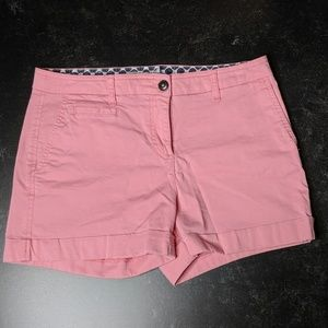 Boden Pink Chino Shorts - Size US 6 - EUC